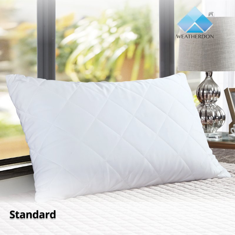 Quilted Pillow Protector  Standard Size