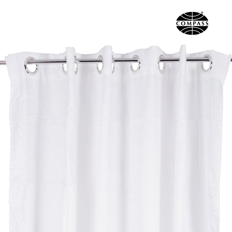 Compass Hookless Premium Shower Curtain