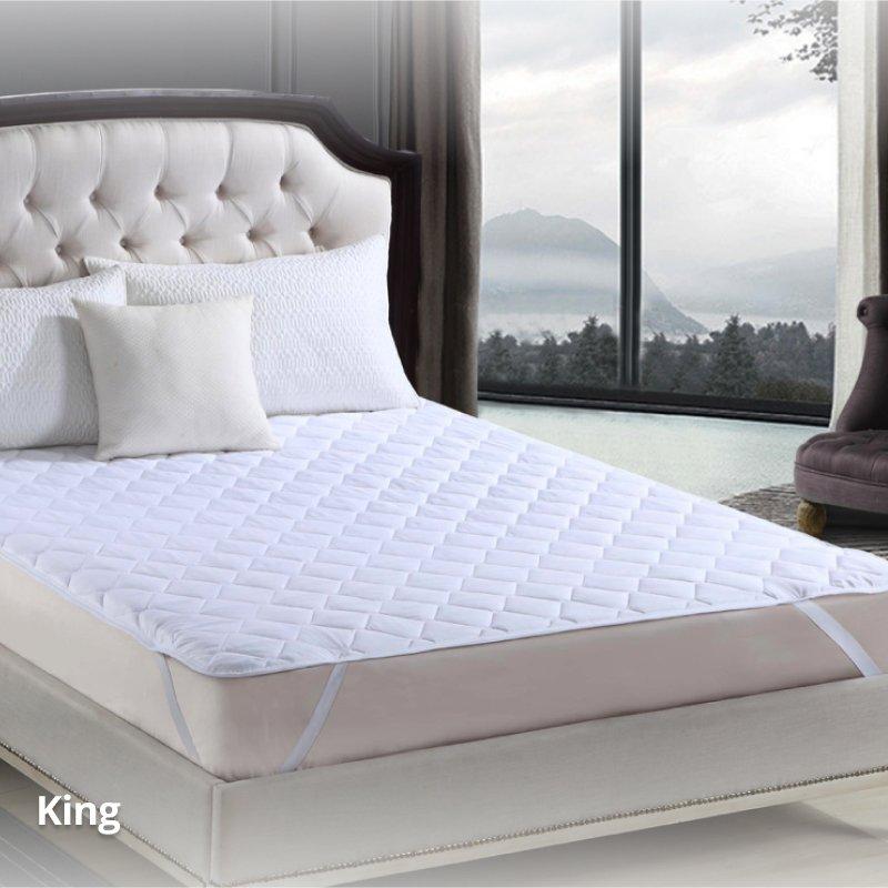 mattress protector king size weatherdon. Black Bedroom Furniture Sets. Home Design Ideas