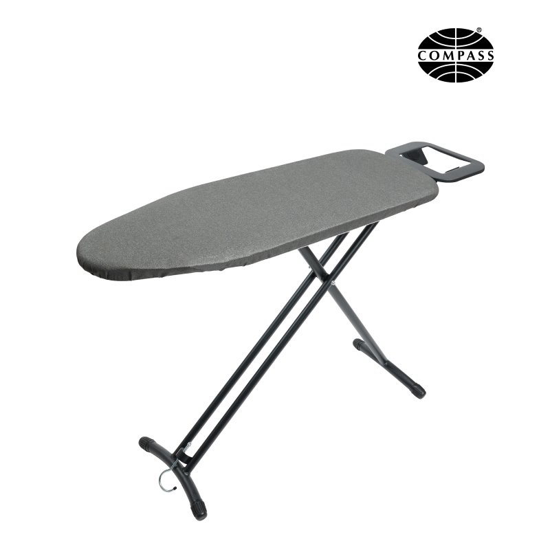 Compact Ironing Board with Hook & Caddy
