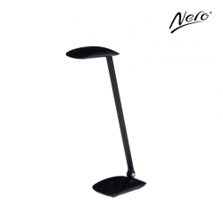 Nero Black Desk Lamp with USB Port