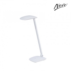 Nero White Desk Lamp with USB Port