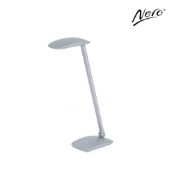 Nero Silver Desk Lamp with USB Port - Click for more info