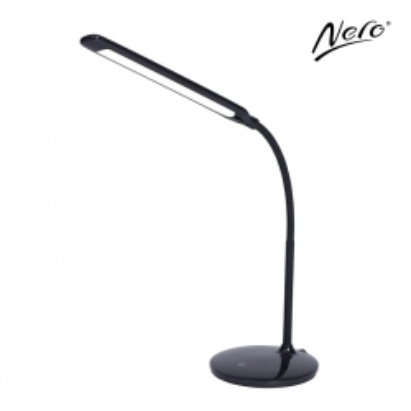 Nero Flexi Desk Lamp Black