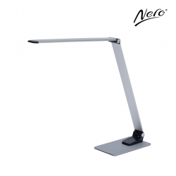 Nero LED Aluminium Desk Lamp with USB