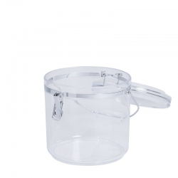 Acrylic Storage Canister Jumbo With Handle 4.5L