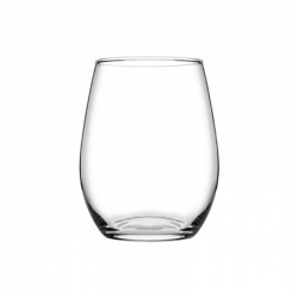 Pasabahce Amber Stemless 570ml Wine Glass