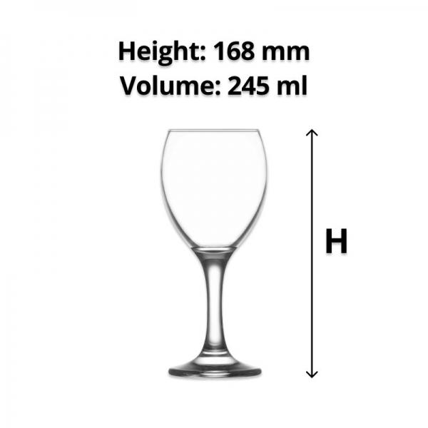 LAV Empire Wine Glass 245 ml