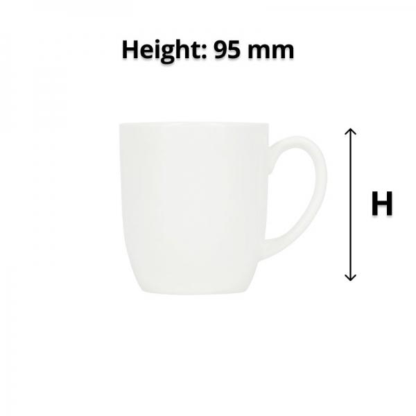 Connoisseur A-La-Carte Mug Tulip Style 350ml
