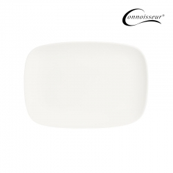 Connoisseur A-La-Carte Coupe Rectangular Plate 180 x 250mm - Click for more info