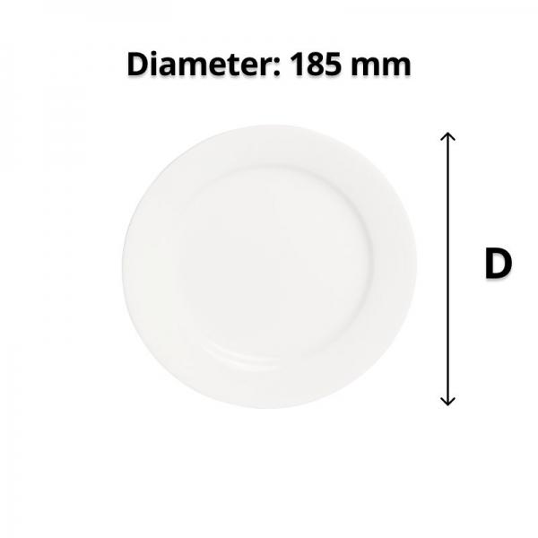 Connoisseur A-La-Carte Side Plate 185mm