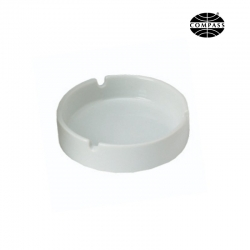 Porcelain Ashtray White