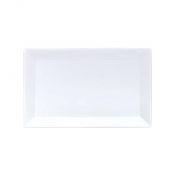Flat Rectangular Platter 370 x 200mm