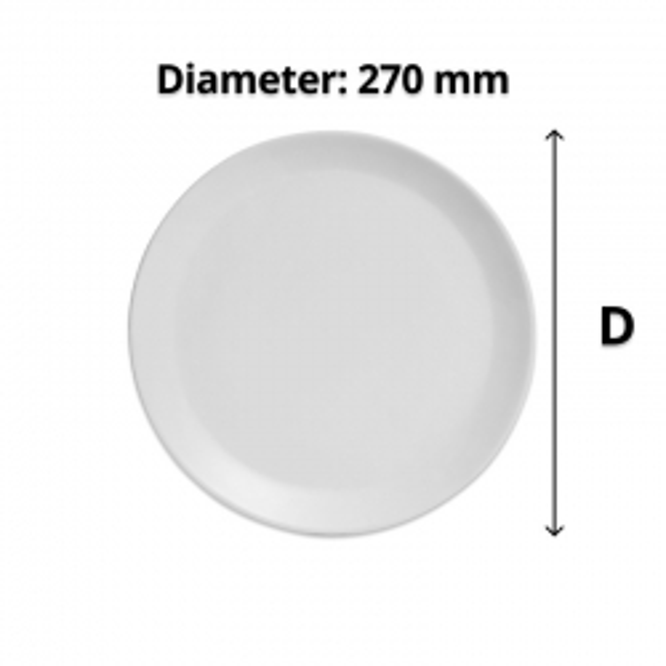 Connoisseur Stone Coloured Dinner Plate 270 mm