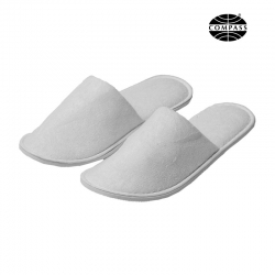 Closed Toe Terry Cotton Hotel Slippers