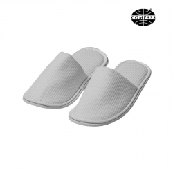 Closed Toe Waffle Hotel Slippers 29cm