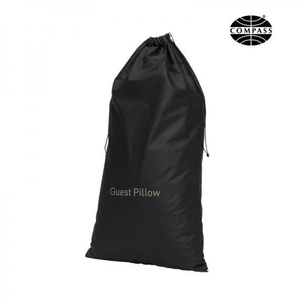 Non-woven Guest Pillow Bag Black