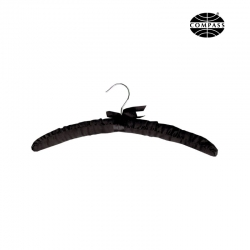 Black Satin Hanger