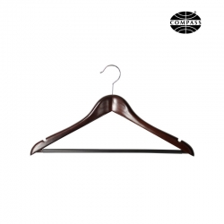 19mm Luxury Hanger Dark Wood