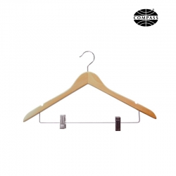 19mm Luxury Hanger w/metal clips