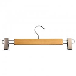 12mm Trouser/Pants Hanger With Clips