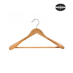 Suit Hanger Light Wood 60mm Shoulder Ends - Click for more info