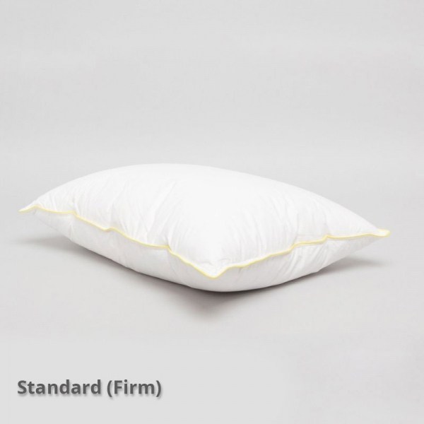 Executive Down Feather Pillow Standard Size Firm