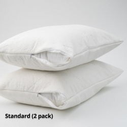 Waterproof Pillow Protector Bamboo Standard Size (2 pack)