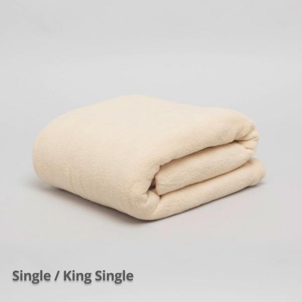 Thermalux Blanket Camel Single/ King Single
