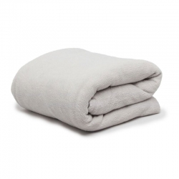 Thermalux Fleece Blanket DB Silver 230 x 240cm