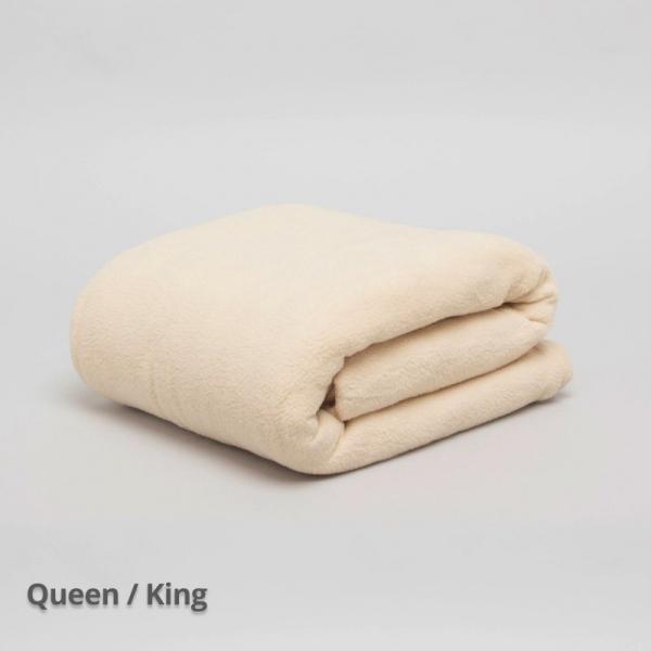 Thermalux Fleece Blanket QB-KB Camel 240 x 260 cm