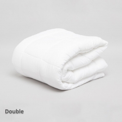 Lightweight (250gsm) Microfibre Quilt Double