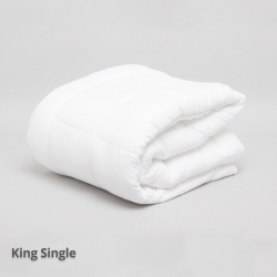 Lightweight (250gsm) Microfibre Quilt King Single