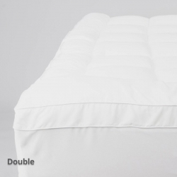 Luxury Mattress Topper Double Fitted
