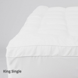 Luxury Mattress Topper King Single Fitted