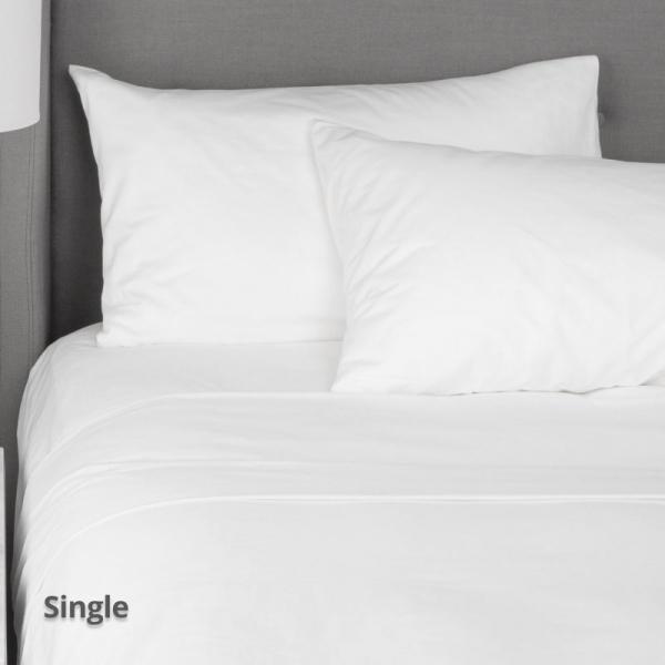 Flat Sheet White Single