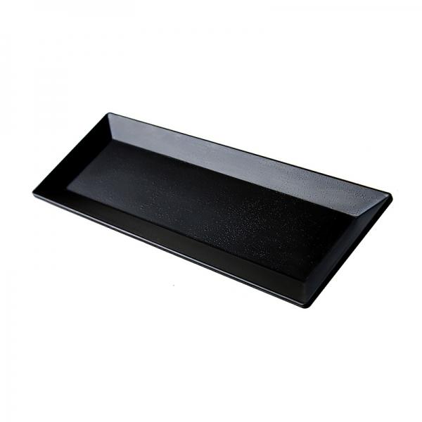Melamine Rectangular Amenity Tray Black