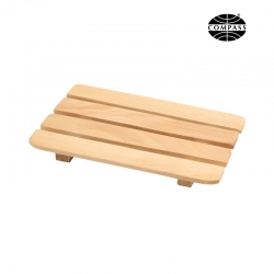 Amenity Tray Wooden Slatted