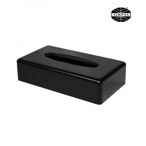 Rectangular Tissue Box Matte Black