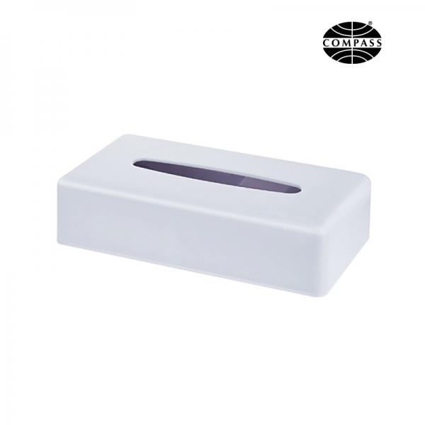 Rectangular Tissue Box White