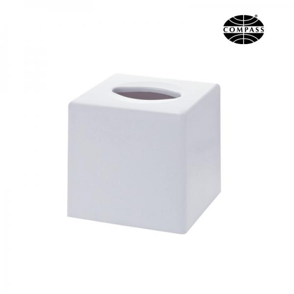 Cube Tissue Box White