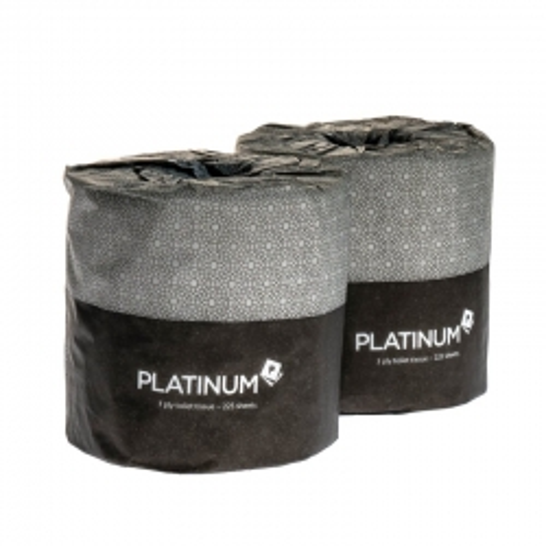 Platinum Toilet Tissue 3 Ply 225 Sheets (Ctn 48)