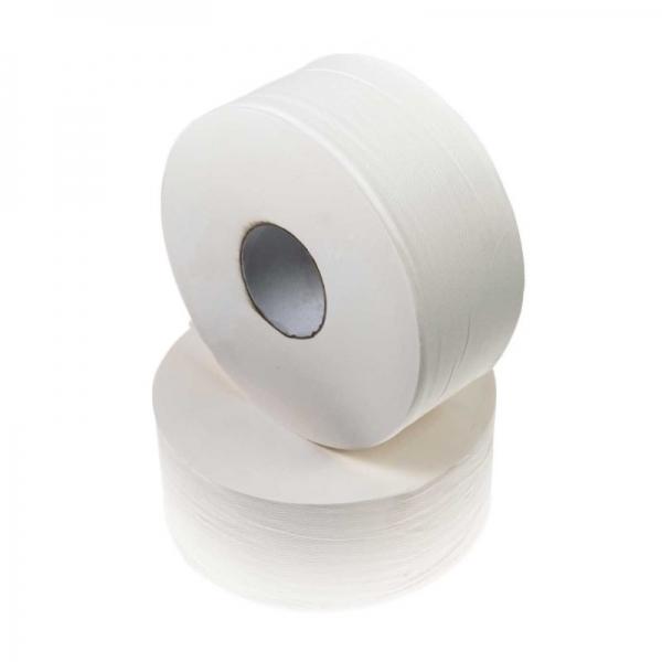DURO Jumbo Toilet Paper 2 Ply 300m (Ctn 8 Rolls)
