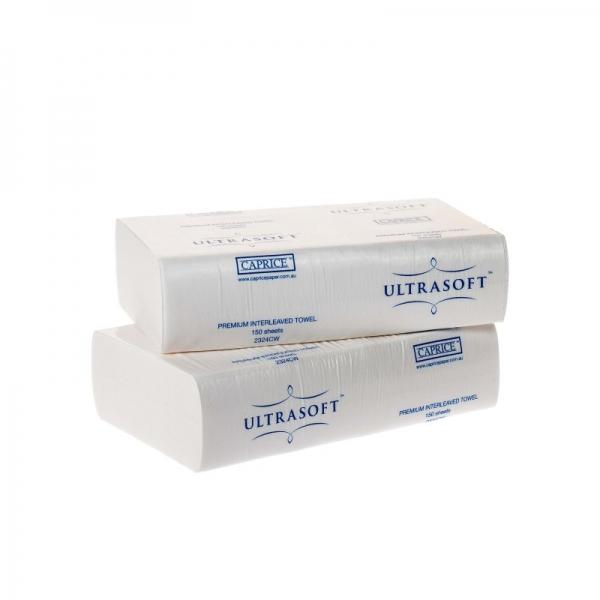 Ultrasoft Interleaved Paper Towel 1 Ply 150 sheets (Ctn 16)