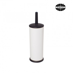 Powder Coated White Toilet Brush - Click for more info