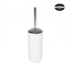 White Plastic Toilet Brush - Click for more info