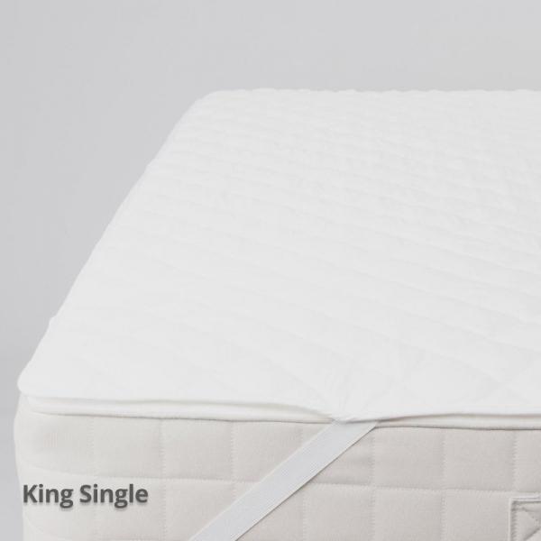 Fibresmart Mattress Protector King Single Strapped