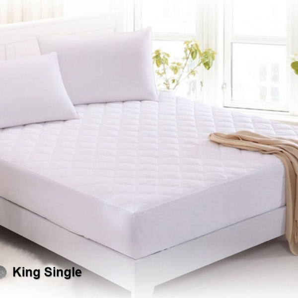 Waterproof Mattress Protector King Single Bed