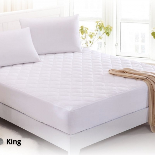 Waterproof Mattress Protector for King Size Bed