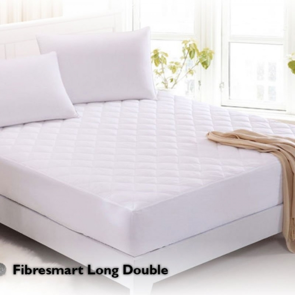 Fibresmart Mattress Protector Long Double Bed Fitted